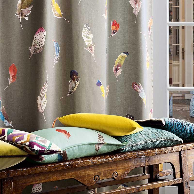 Textilien für Wand und Boden