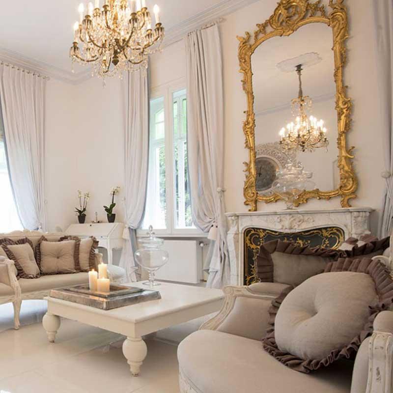 Raumgestaltung für Wohnung, Hotel, Yacht und Geschäft